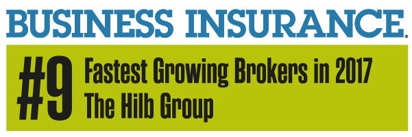 business insurance award - fastest growing broker 2017