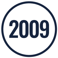founded 2009 icon